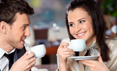 Coffee on a date