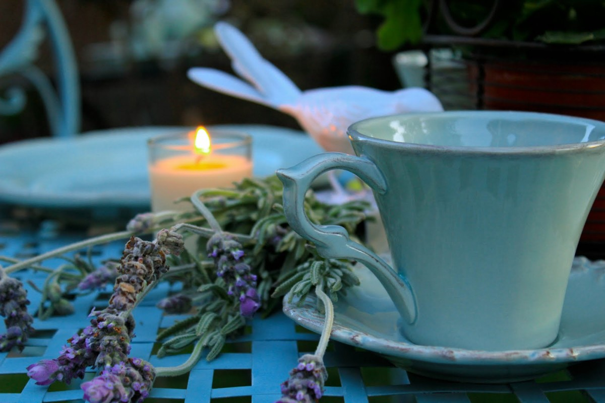 Only lavender tea can give sweet dreams, every sip of this drink turns into a magical lullaby