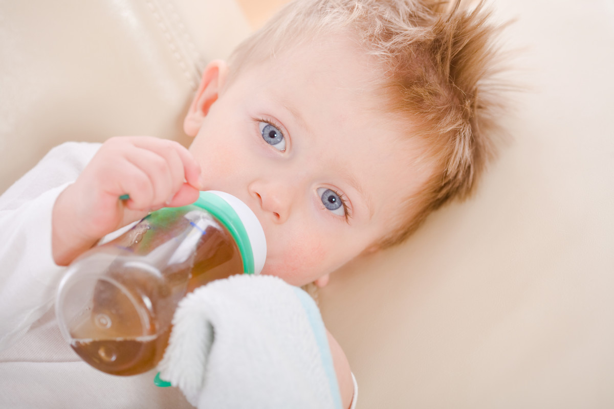 Tea helps children get rid of excess gas