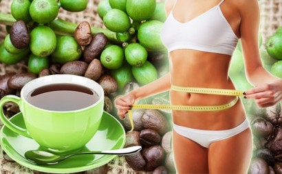Green slimming coffee